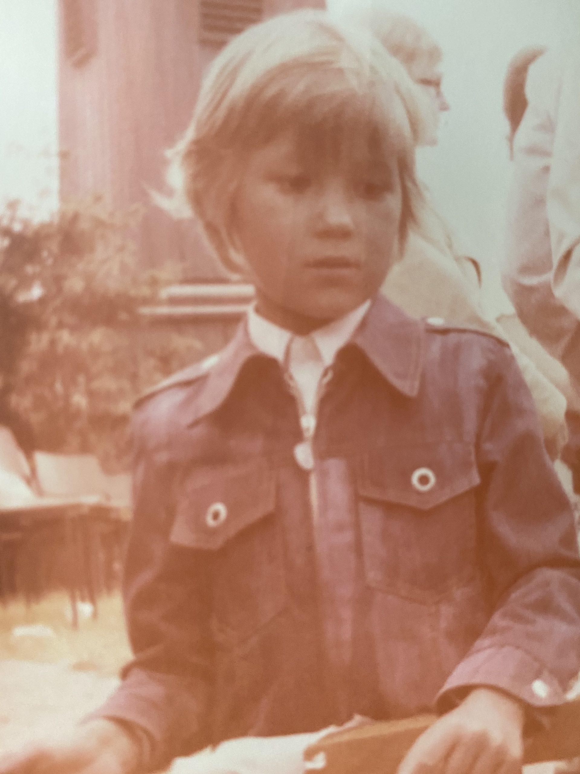 Der erste Tag im Kindergarten. Ehrlich: Null Erinnerungen an diesen Tag.
